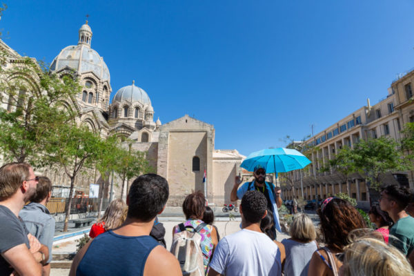 Marseille tour guide during our visit of marseille old town - marseille tours - what to see and do in Marseille
