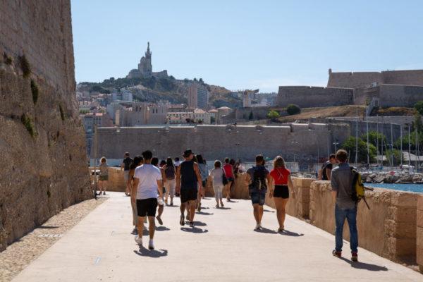 Contacte Marseille Free Tours para visitar la ciudad vieja de Marsella